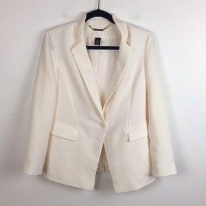 White House Black Market Single Button Blazer